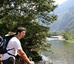 Een prachtige wandeling naar Machu Picchu