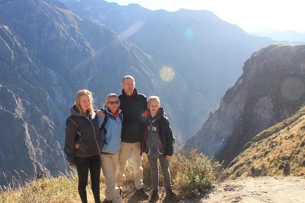 reiservaring Peru Familie Frijters