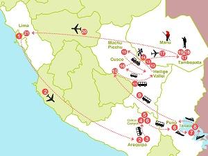Route 7: Rondreis Peru met Inca Trail en bezoek Amazone