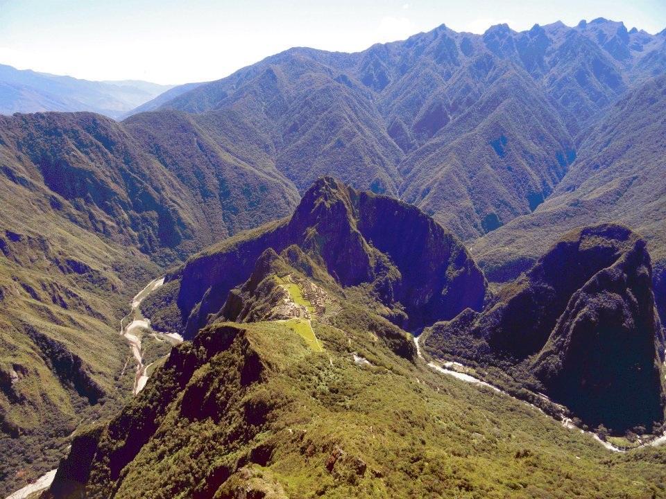 4, Bergtop Machu Picchu